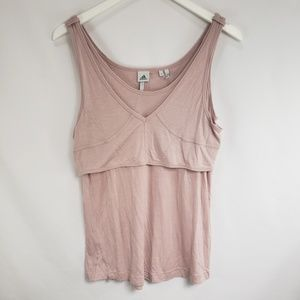 Adidas by Stella McCartney Blush Pink Tank Top